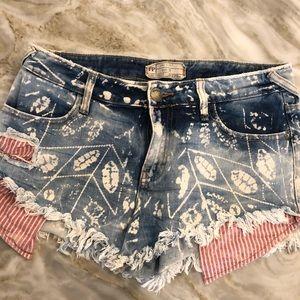 Free People shorts. Size 27